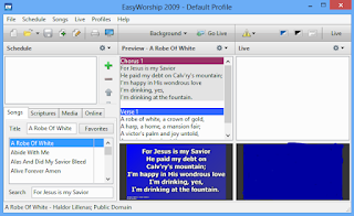 EasyWorship 2009 : Download, Instal Software, Alkitab dan Cara mengoperasikan