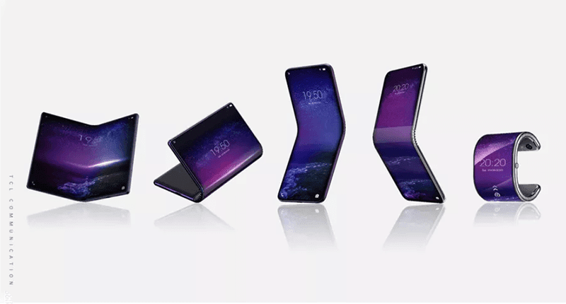 TCL is working on at least 5 foldable devices, one could curve into a smartwatch