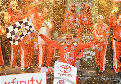 Christopher Bell holds off Noah Gragson for Xfinity win at Richmond