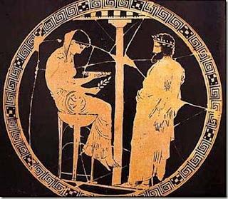 La Pitonisa, Oraculo de Delfos, Civilización griega antigua,