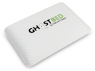 Enter to win a GhostPillow from GhostBed. Ends 10/24