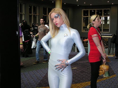 Seven of Nine start trek costume