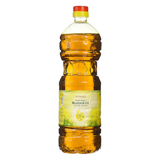 Patanjali Aarogya Mustard Oil 1 Litre Bottle