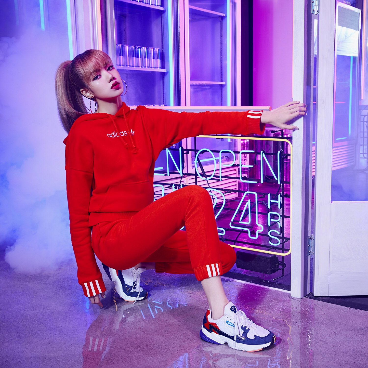 181130 Adidas Korea Twitter Updated With Lisa Lisa Blackpink