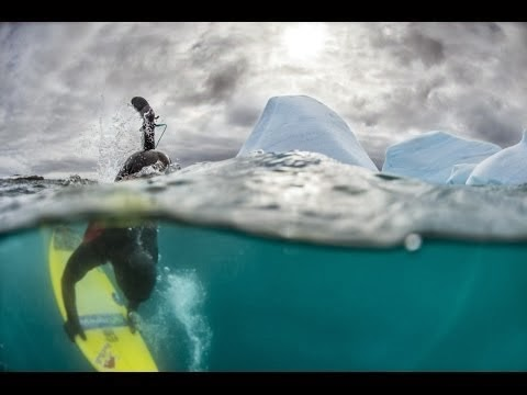 The cold hard edge of surfing - Red Bull Surfing Antarctica