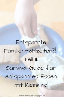 Survival Guide entspannte Familienmahlzeiten