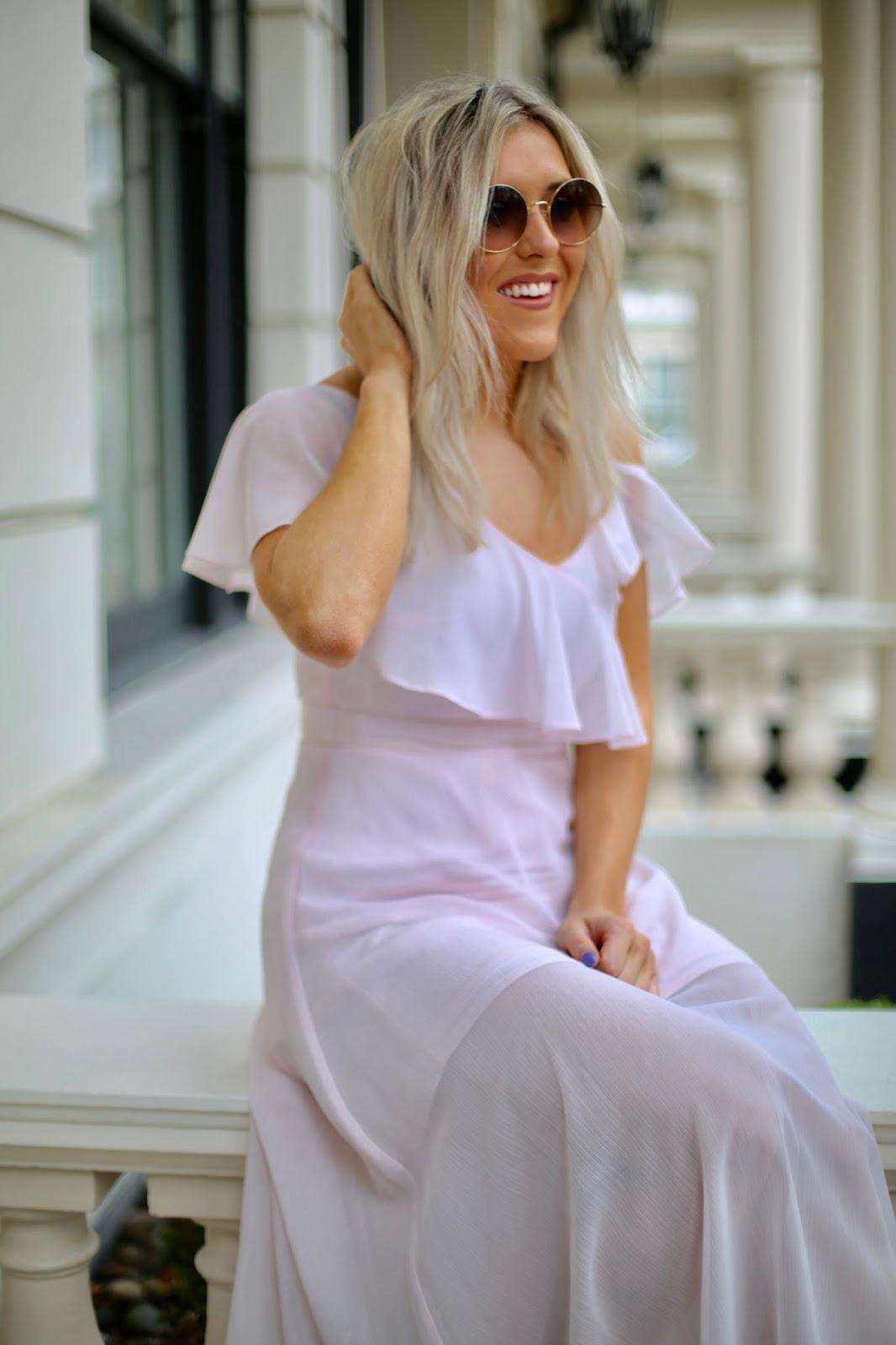 coast pink dress