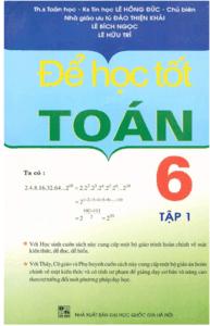 Để Học Tốt Toán Học 6 Tập 1 - Lê Hồng Đức