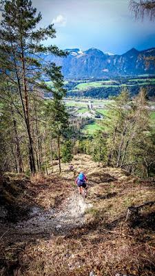 Schöne Aussicht Wanderweg Trail MTB Mountainbike E-Bike Wörgl