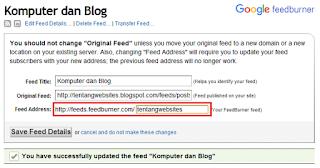 Setting yang perlu kamu lakukan setelah mengganti admin blog