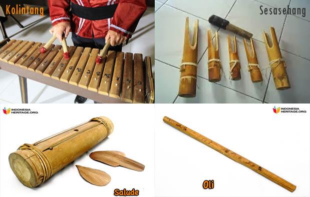 6 Alat Musik Tradisional Sulawesi Utara Gambar Dan Penjelasannya Lensa Budaya
