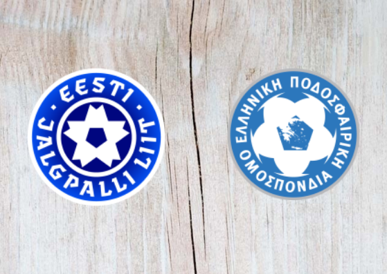 Estonia vs Greece - Highlights 08 September 2018
