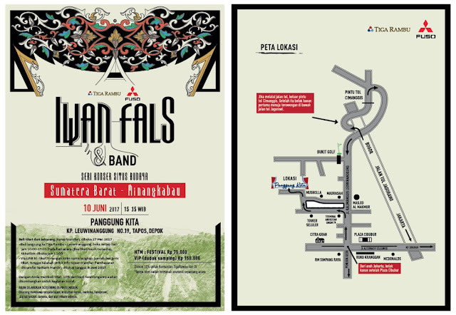 Konser Iwan Fals Situs Budaya Sumatera Barat Minangkabau