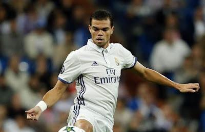Inilah Pengganti Pepe Di Lini Belakang Real Madrid