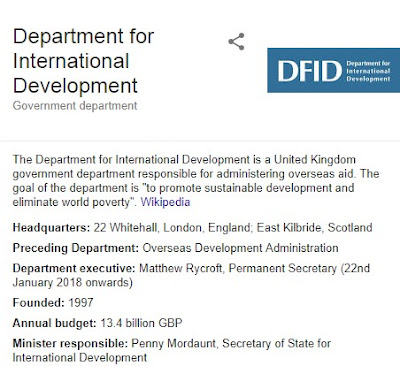 Department for International Development (DFID) Entry Talent Programme 2018/2019 | Apply Here