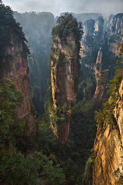 Wallpaper Zhangjiajie National Park Of China Wulingyuan