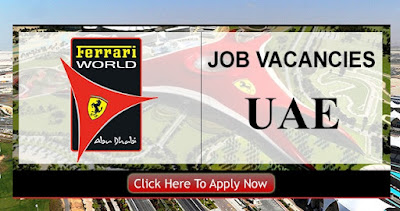 Jobs at Ferrari World Abu Dhabi
