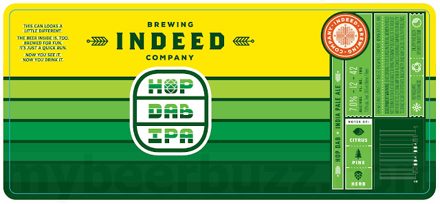 Indeed Adding Hop Dab IPA Cans