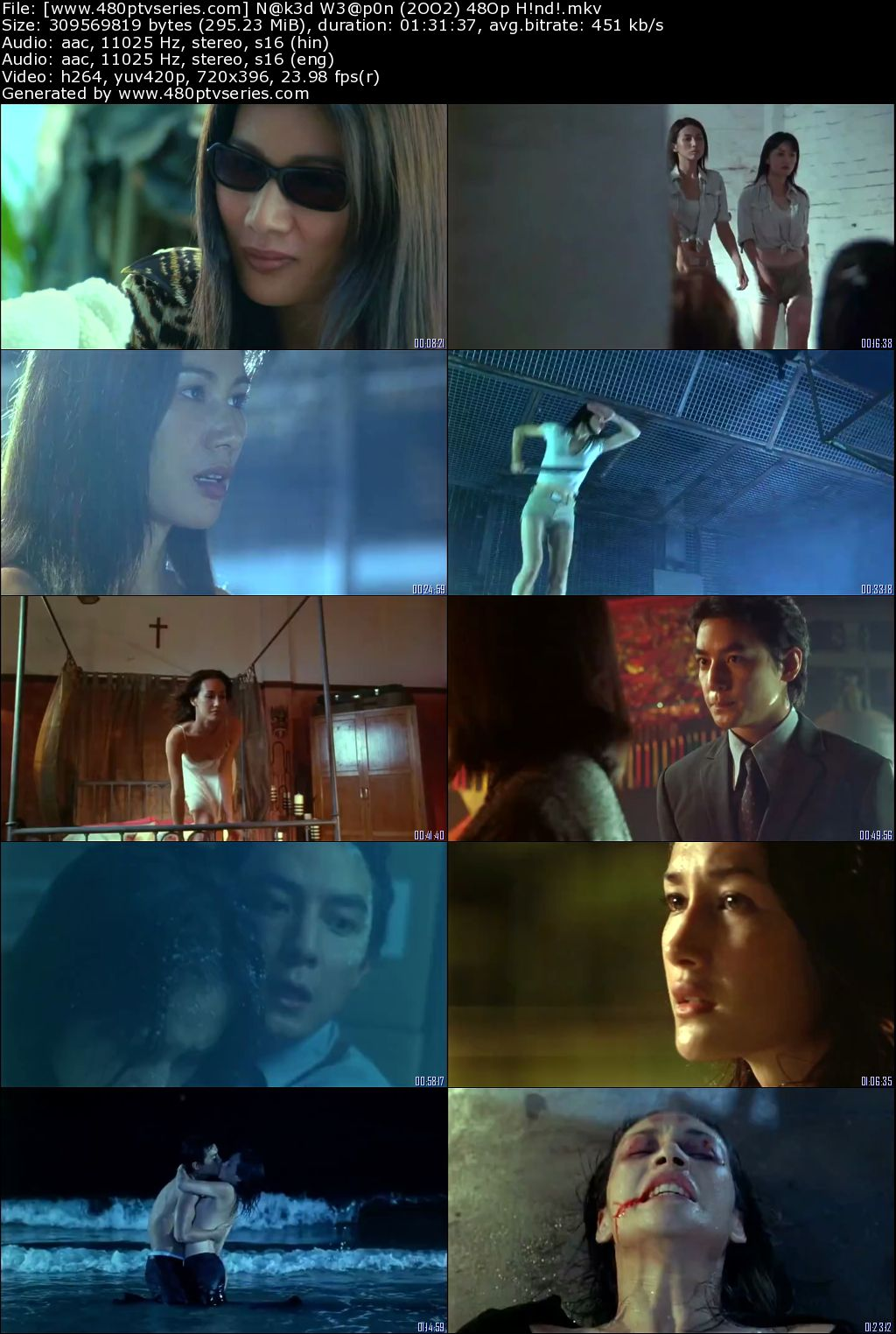 Naked Weapon (2002) 300MB Full Hindi Dual Audio Movie Download 480p BRRip Free Watch Online Full Movie Download Worldfree4u 9xmovies