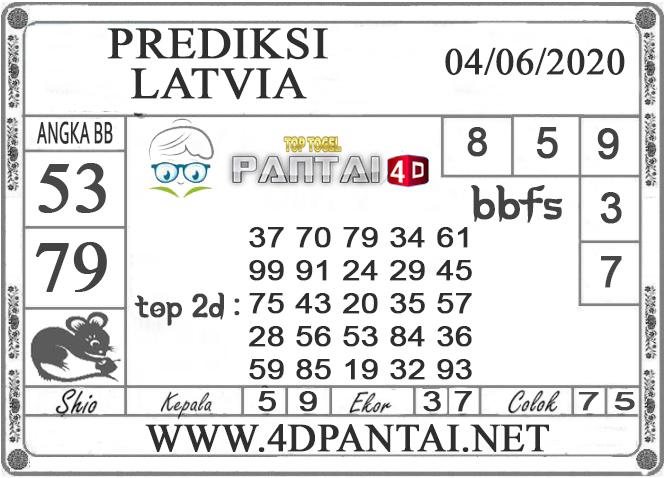 PREDIKSI TOGEL LATVIA PANTAI4D 04 JUNI 2020