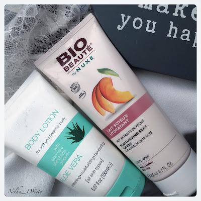 body lotion Flormar - Bio beauté by Nuxe