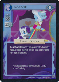 My Little Pony Stand Still! Premiere CCG Card