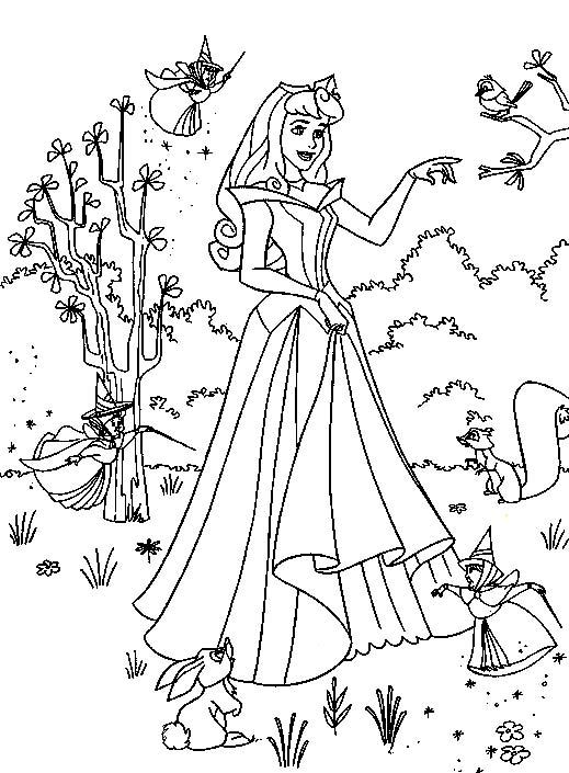 FUN & LEARN : Free worksheets for kid: Disney Princess ...