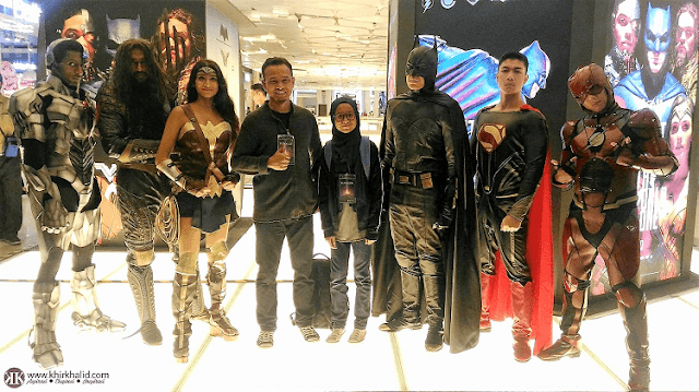 Justice League DC Cosplay Gathering, Sky Avenue, Resorts World Genting,