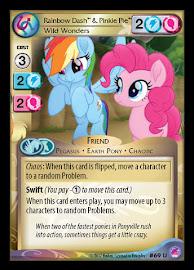 My Little Pony Rainbow Dash & Pinkie Pie, Wild Wonders Seaquestria and Beyond CCG Card