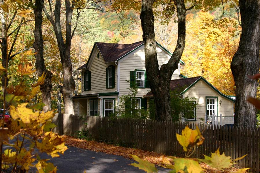 Autumn Lights Picture Autumn House