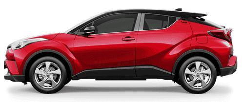 Varian Baru Toyota CHR 2018