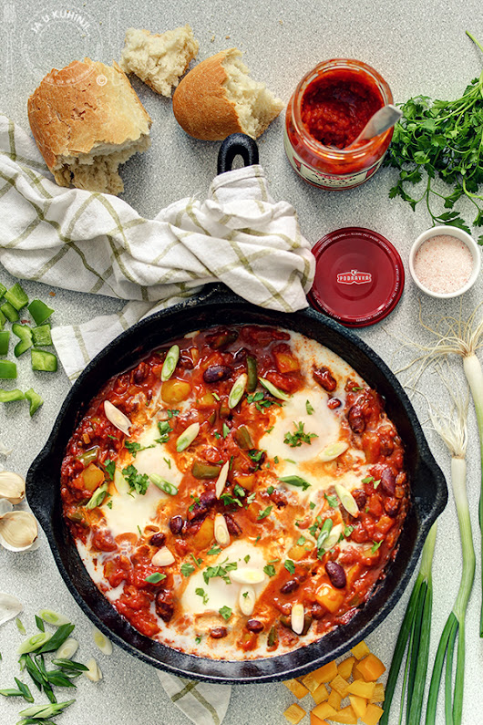 Shakshuka sa Podravka ajvarom (video recept)