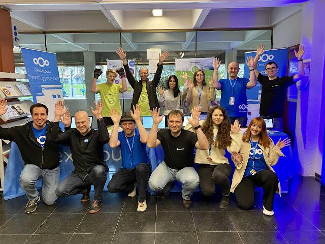 FOSDEM 2020 with Nextcloud