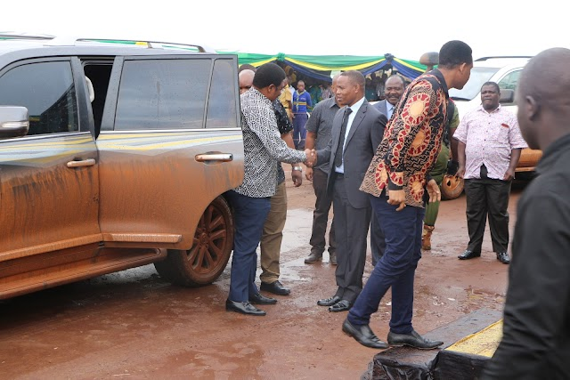 Taswira Picha Waziri Mkuu Kassim Majaliwa akiwasili Mkoani Kagera Kwa Ziara ya Siku mbili.