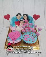 Cupcake Cantik Hadiah Ulang Tahun