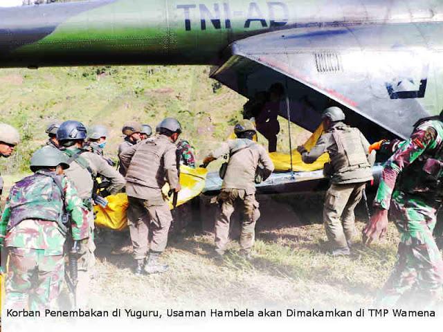Korban Penembakan di Yuguru, Usaman Hambela akan Dimakamkan di TMP Wamena