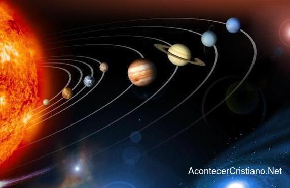 Sistema solar es obra de un Creador