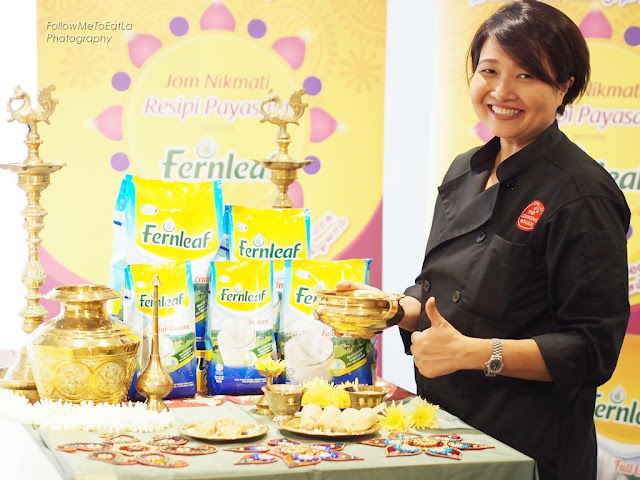 Chef Annette Isaac  Thumbs Up to Fernleaf Payasam, Fernleaf Payasam Pudding and Fernleaf Payasam Ice Cream