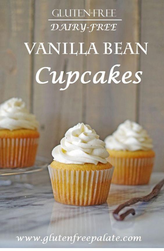 Gluten-Free Vanilla Bean Cupcakes
