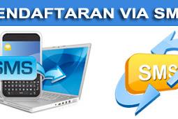 Pendaftaran Via SMS