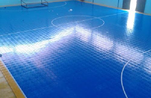 Jenis Lapangan Futsal Karpet Plastik
