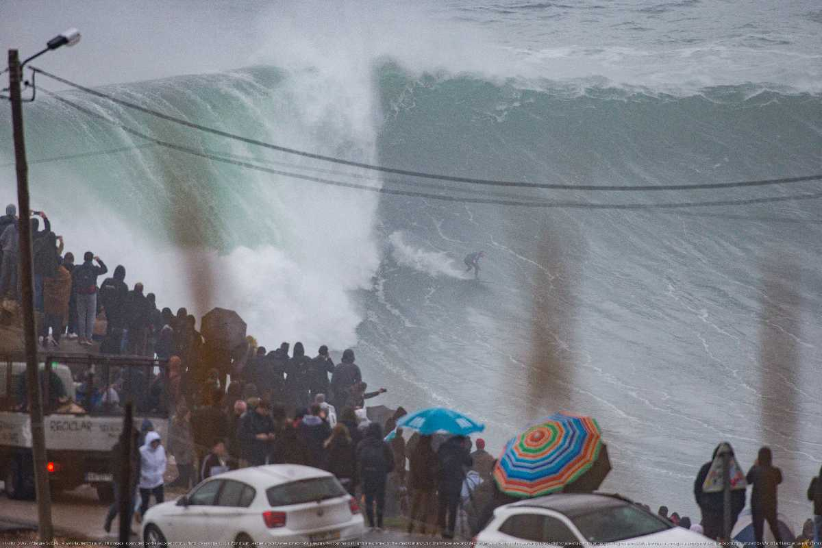 NAZARÉ GREEN ALERT The BIG WAVE Tow Surfing Challenge will RUN February 11th