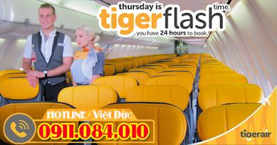 Đặt mua vé máy bay đi Singapore chỉ từ 24 USD từ Tiger Air