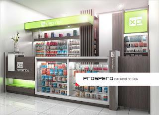 baik obat bebas maupun obat dengan resep dokter 20 Contoh Desain Apotek Modern Terbaru