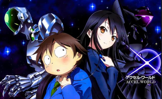 Accel World - Daftar Rekomendasi Anime Action Romance Terbaik