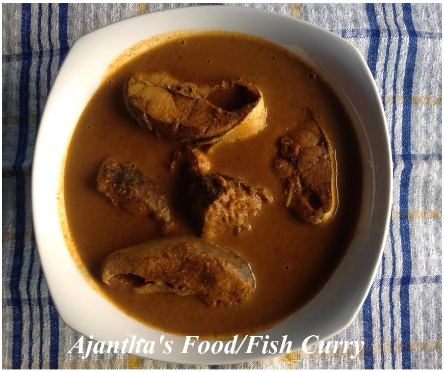 Ajantha's Food/ Fish Curry