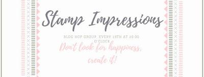 Stampin' Up! rosa Mädchen Kulmbach: Stamp Impressions Blog Hop – Jeden 19. im Monat