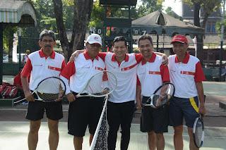 Pemkab Trenggalek dan Bank Jatim Gelar Pertandingan Persahabatan Tenis