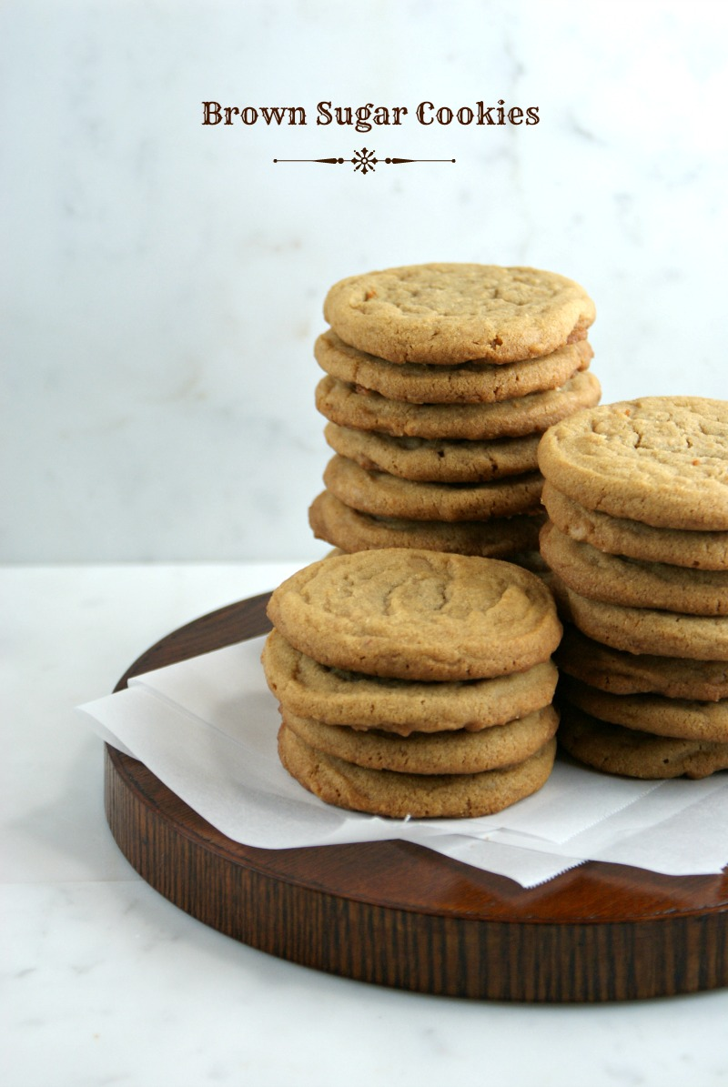 Authentic Suburban Gourmet: Brown Sugar Cookies