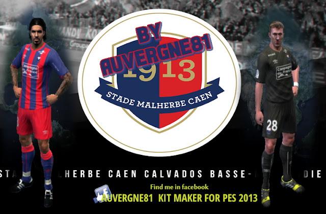 PES 2013 SM CAEN GDB UPDATE 2016-2017 by Auvergne81